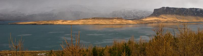 Birtan var skemmtileg á Þyrilsnesi um tíma