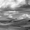 Rural Landscape Panorama _ bw
