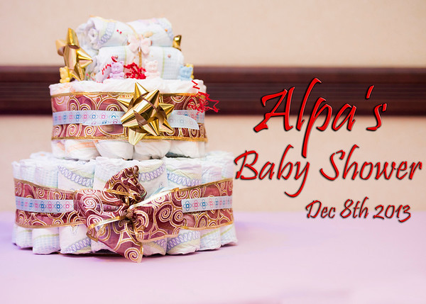 Alpa's Baby Shower