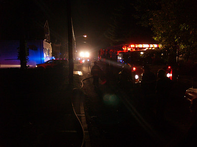 08-30-08 New Milford, NJ - Working Fire