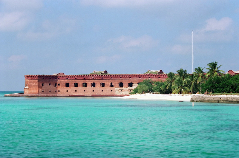 Fort Jefferson National Park on the Dry Tortugas.