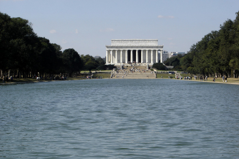 Lincoln Memorial from across the Reflecting Pool