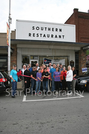 Ribbon Cutting at Southern Restaurant 10-28-2013