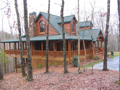 Our New Mountain Cabin, March 2007