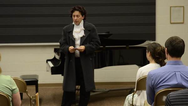A visit from Beethoven