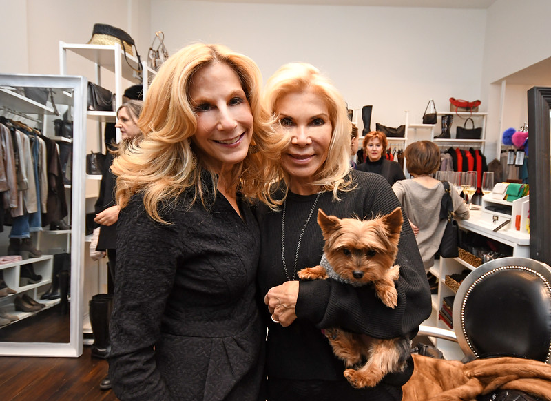 MANHATTAN, NEW YORK - NOVEMBER 12, 2018: Avenue Magazine presents an evening with Italian fashion designer Jennifer Tattanelli at her Upper East boutique located at 1082 Madison Avenue on November 12, 2018. (Photo Credit: Lukas Maverick Greyson/lukasmaverickgreyson.com)