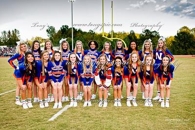 Cheerleaders @ Homecoming 7 Oct 2017