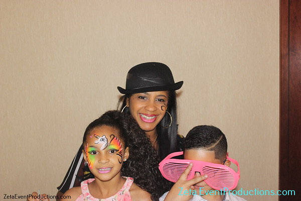 Leane, Sophie, Natalie & Jaslene's Birthday Bash Photo booth Pictures At The Harbor Beach Marriott