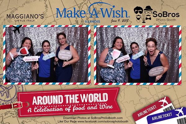 2018-06-09 Make-A-Wish & Maggiano's: Around the World