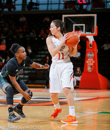 BGSU Womans Basketball highlights