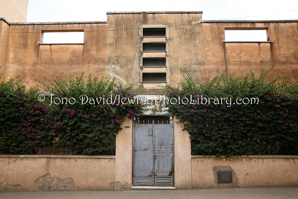 ERITREA, Asmara. Homes (former) of Jewish families (3.2015)