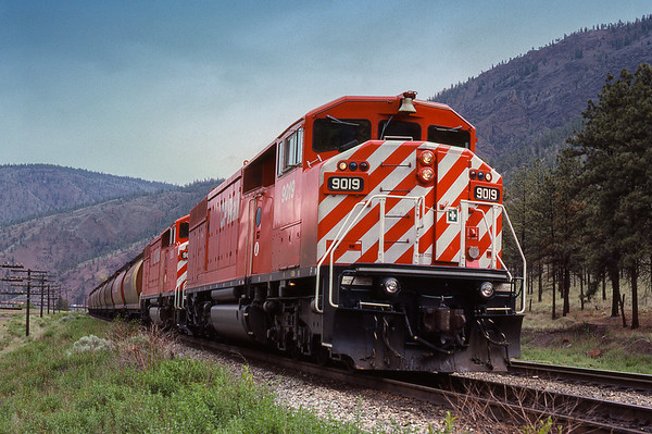 CPR's  SD40-2F, the Red Barns