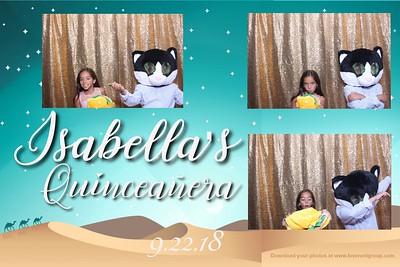 Isabella's Quinceanera