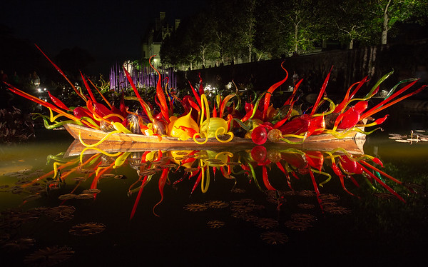 Chihuly Nights at the Biltmore - 2018