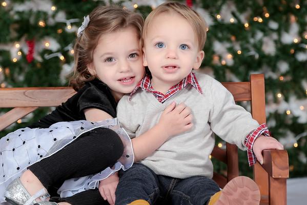 Kenadie & AJ Christmas