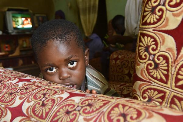 Les déplacés dans Dschang, Cameroun