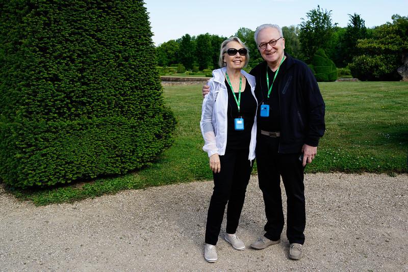 Carol and Zal Schrader