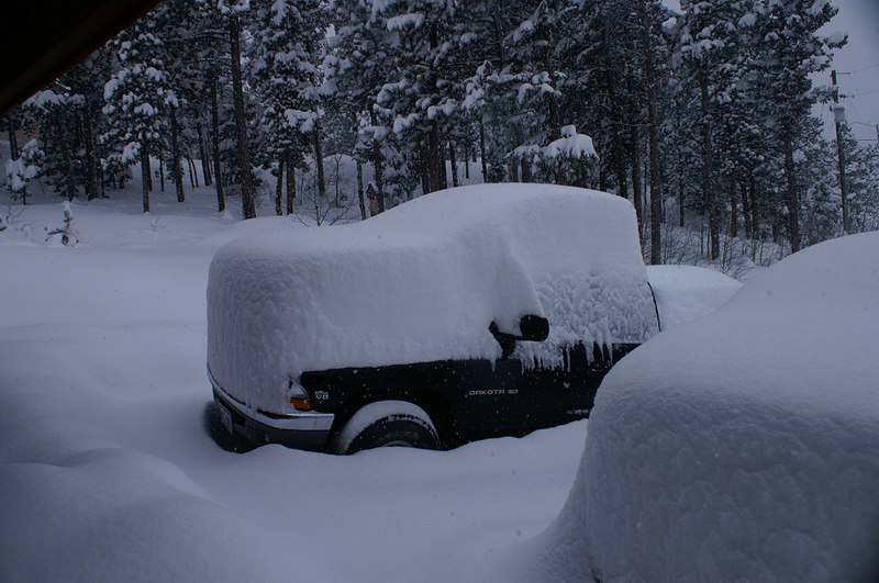 30 inches of snow, Blizzard 2006, December 21, 2006