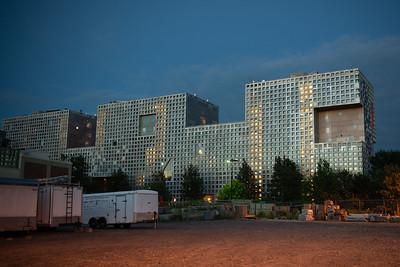 MIT Dorm at Night