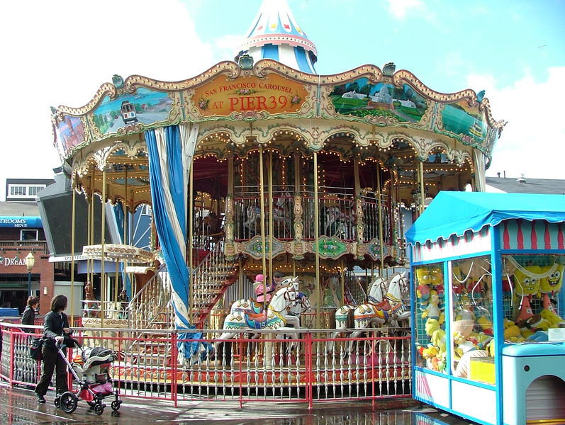Long View of the Carousel