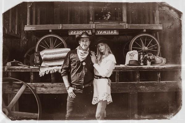 The Birnbaum's Western Welcome Party in Aspen
