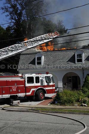 Winchester, MA - 3rd Alarm - Central Green - 9/4/08