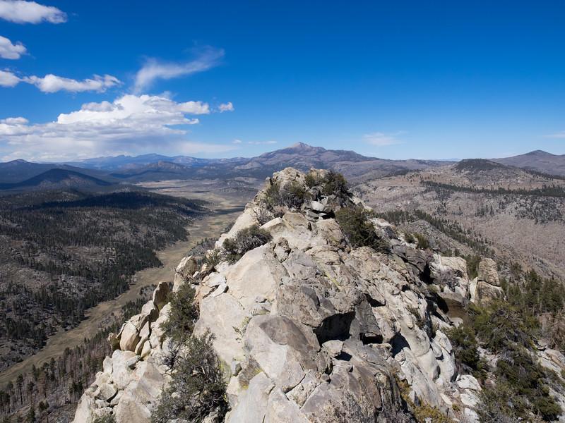 Looking over to Olancha Peak from Crag Peak