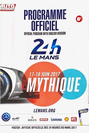 2017 Le Mans June  24 hour race