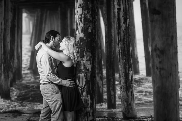 Josie and John Engagement @ Capitola Beach