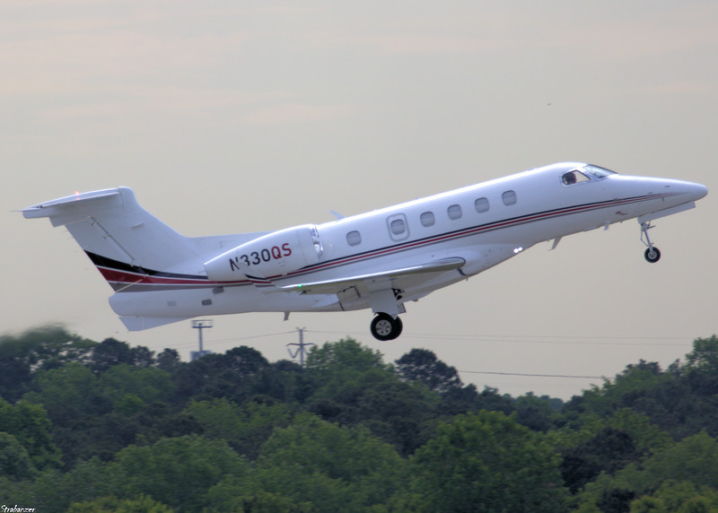EMBRAER S A  EMB-505  Phenom 300 c/n 50500180   N330QS NETJETS SALES INC Taking off for Columbia Metro, SC  KCAE KPDK, GA, 05/08/2021, This work is licensed under a Creative Commons Attribution- NonCommercial 4.0 International License.