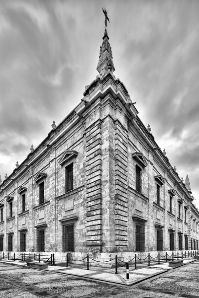 West and North facades, University of Seville (former Royal Tobacco Factory), Seville, Spain