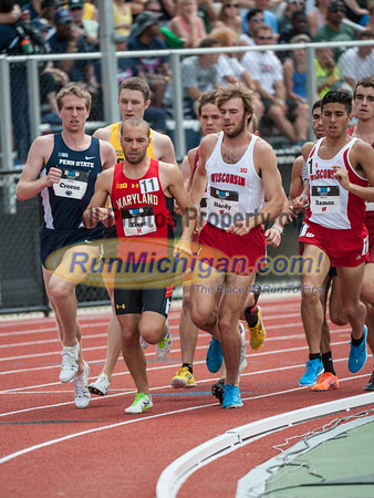 BIG10 1500M Men Final - 2015 Big Ten Outdoor