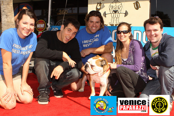 02.13.10 Muscle for Mutts at Gold's Gym.