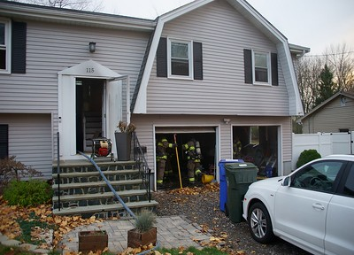 Garage Fire - 115 Star Ave, Newington, CT - 11/17/20
