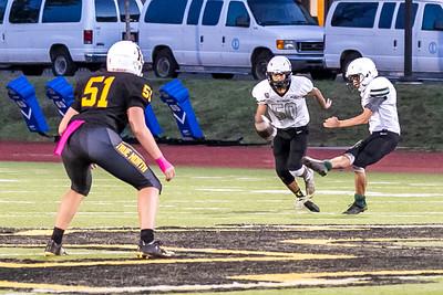 2021 Wells vs Roosevelt Varsity Football