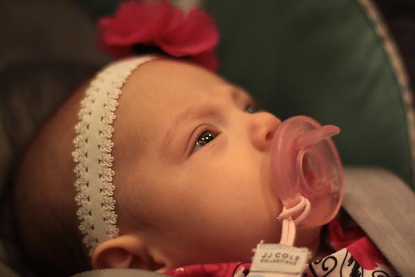 Alyssa Baby Dedication 12-2-12