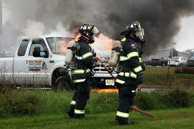Budd Lake Firefighters Douse Truck Fire on Rt. 46