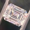 1.83ct Vintage Emerald Cut Diamond GIA F VVS2 6