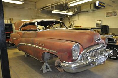 1953 Buick Super Riviera 2 Door Hardtop - Clay Folda