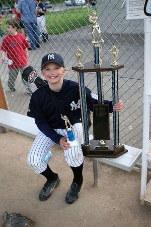 Yankees #33 Tri-City Champs June 15 2005