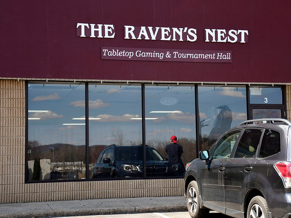 4/15/2020 MIke Orazzi | Staff The Raven's Nest Tabletop Gaming & Tournament Hall in Southington.