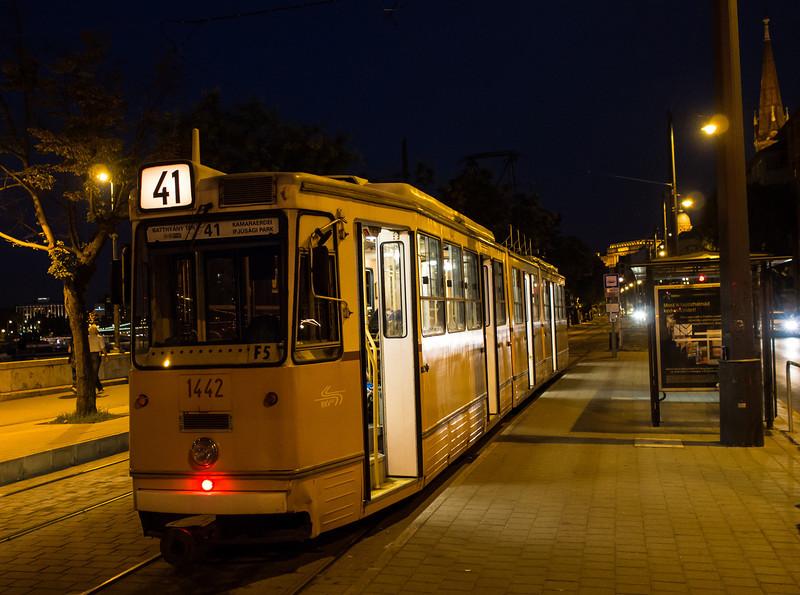 Tram, Budapest, Hungary