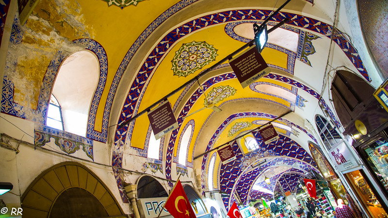 The foundation of Grand Bazaar was laid in 1461. It is one of the unique centers in Istanbul to be visited with 60 narrow streets in 37.700 square meters giant like labyrinth, and more than 3600 shops. It is a covert site that reminds of a city which wasdeveloped and lgrew in years.