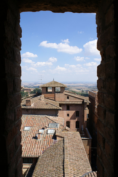 Wall view, Siena