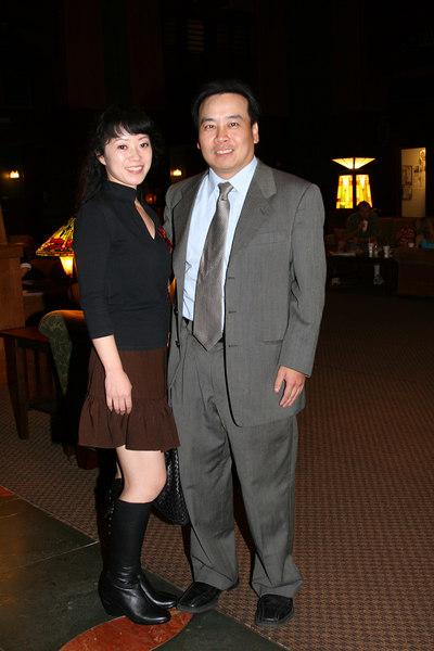 Victor and Keyoko at Disneyland