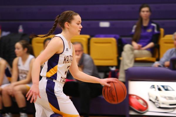 Basketball Girls vs. Constantine - KCHS - 2/22/16