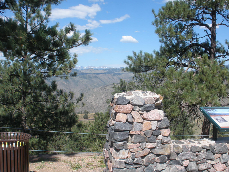 Colorado Rockies from Buffalo Bill's grave