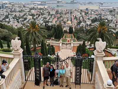 Day 12, Israel - Touring the city of Akko and stopping at Haifa on the way to Tel Aviv
