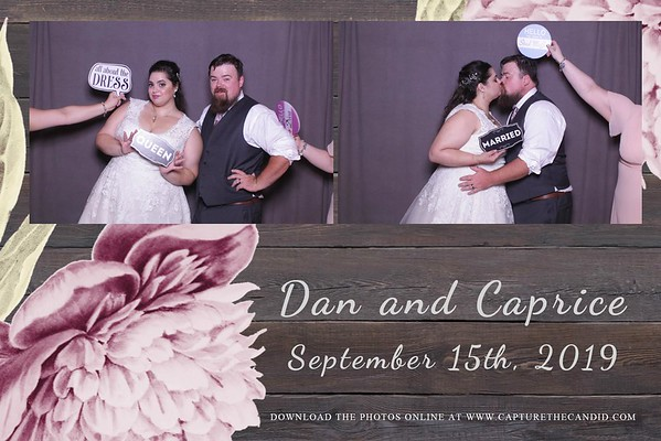 Dan & Caprice's Wedding