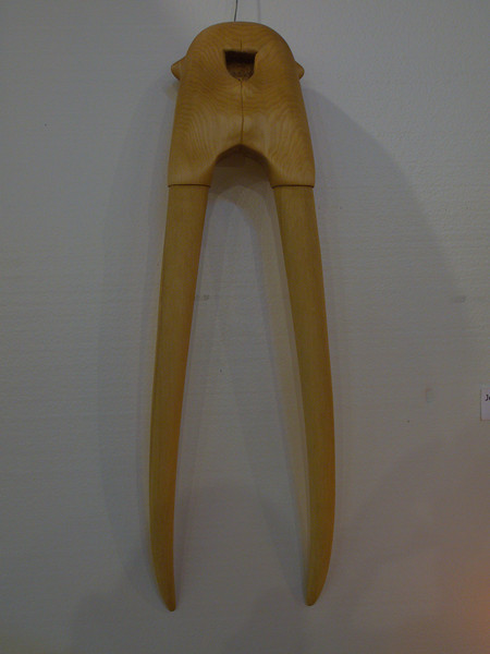 Tom, Jennifer and Sarah Dolese - Furniture Makers - Walrus Tusk Carving